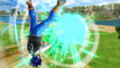 DBXV2 Future Warrior (Super Pack 3 DLC) Reversal Lancher - Finishing Blast (Super Skill)