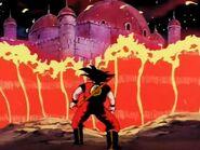 EP149DB El Castillo de Gyuma en llamas