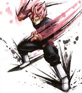 Super Saiyajin Rosa Irogami Art 2