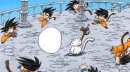 Ilusión de imagen de Goku a Full Color