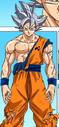 Goku UI against Moro