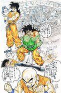 The implications of Yamcha's traumatic death on Krillin BY Masaki Sato