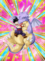 Dokkan Battle Innocent Friendship Gohan (Kid) card (Cooler's Revenge - Icarus & Kid Gohan)
