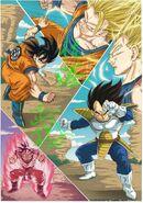 Goku vs. Vegeta, Masaki Sato, 【MadeinAsia】, March 28th. 2018