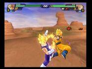 Majin Vegeta vs Goku BT3
