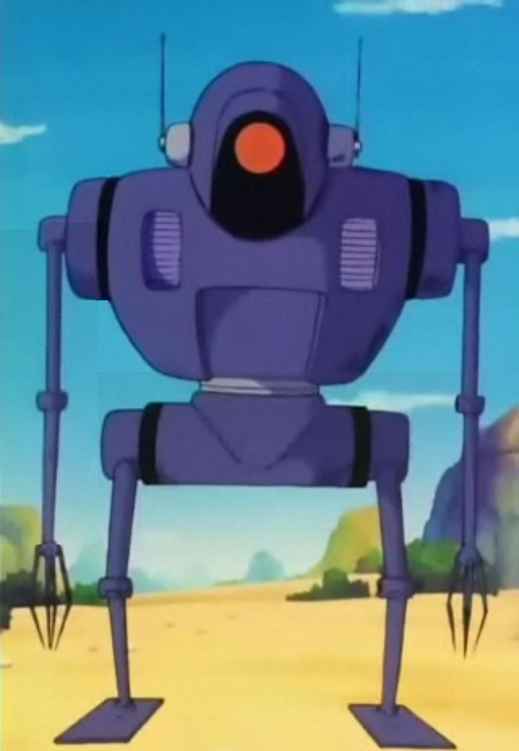 Robot de Cápsula del Ejército del Listón Rojo