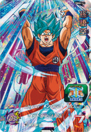 SDBH World Mission Card PBBS2-01 SSGSS Goku card (Promotions Set - SSJ Blue Goku)