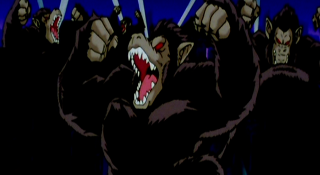 Mono gigantesco