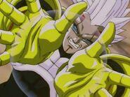 Super Baby Vegeta 2 a punto de atacar