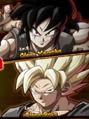 Clone Goku and Clone Yamcha
