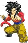 Goku ssj4 arte oficial de Gt