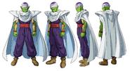 Arte conceptual de Piccolo en Superhéroe