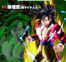 Goku (Super Saiyan 4) XV2 Character Scan