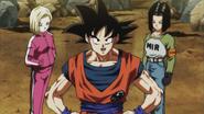 Goku y los Androides enfrentan a las Tropas del Orgullo
