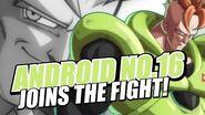 PS4 Xbox One「ドラゴンボール ファイターズ」人造人間16号/キャラクターPV