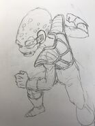 Toyotaro - Appule poses a battle stance (22-05-2018)