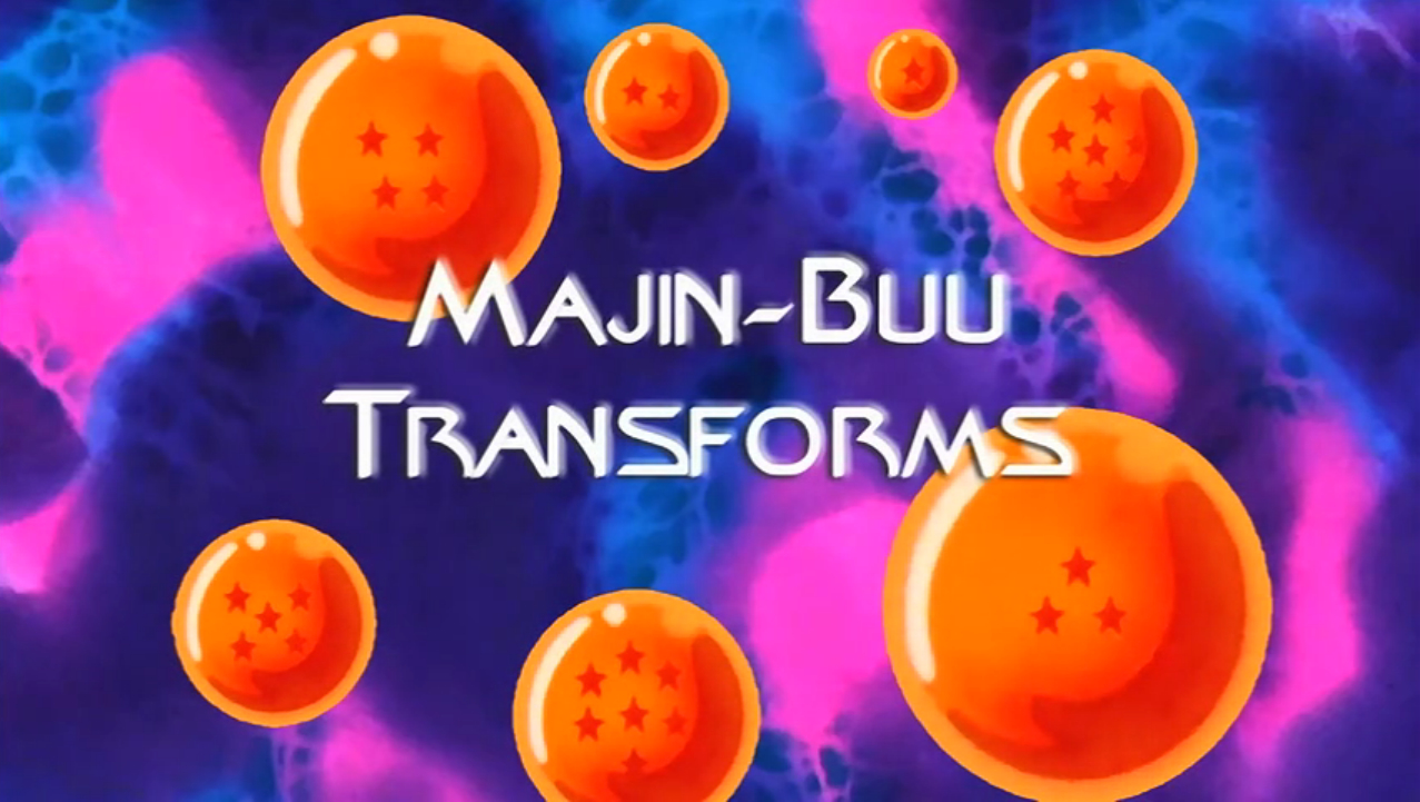 Majin Buu Transforms