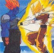 Goku ssj vs super android 13