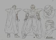 Sketch DBZ11 Piccolo