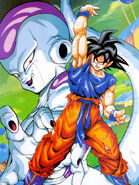 Artwork Goku vs Freezer forma final