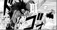 Broly Oscuro ataca a Goku Xeno