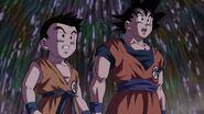 Goku y Krilin Bosque DBS 2