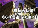 Um final milagroso! Adeus, Goku! Até a próxima!