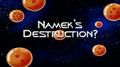 Nameks destruction