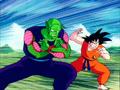 Piccolo et goku face à raditz