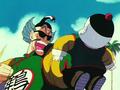 Shen about to kill Chiaotzu