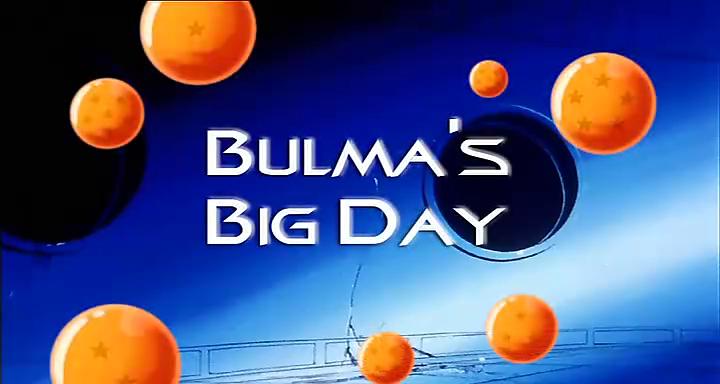 Bulma's Big Day