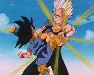 Goku vs Baby Vegeta