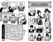 Presentazione personaggi DBS13