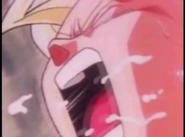 Turles hits gohan in the neck mkaeing the boy cough up spit3