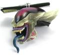 Creatures Banpresto 6cm Frieza3 keychain