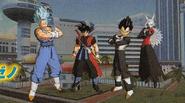 Ultimate Mission X Vegetto Vegeta Goku Xeno Towa