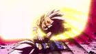 Gohan takes Cell's attack meant for Vegeta