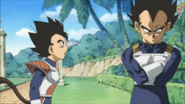 Vegeta and Tarble Brothers