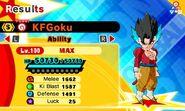 KF SS4 Goku (SSB Vegito)