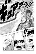 ...much to Krillin, Goku and Yamcha's shock...