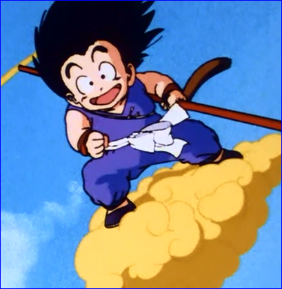 My Other Ride is A Flying Nimbus Black METAL License Frame DBZ