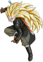 Trunks - Xeno (Long Cheveux) (Super Saiyajin 3) (Artwork)