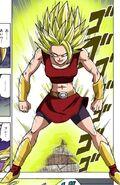 Kale Super Saiyan Manga