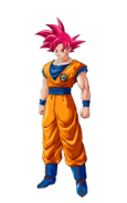 Son Goku SS Dios DBZ Kakarot