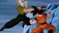 Android 13 fights goku