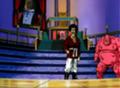 Mr. Satán en la arena de batalla - Castillo de la reina Mei