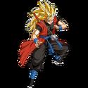 Son Gokû - Xeno (Super Saiyan 3) (Artwork)