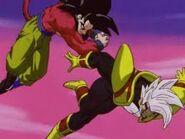 Goku Super Saiyan vs Super Baby Vegeta 2 (7)