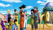 Trunks y Mai despedida todos 1