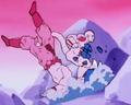 A Final Attack - Frieza smashes Goku again